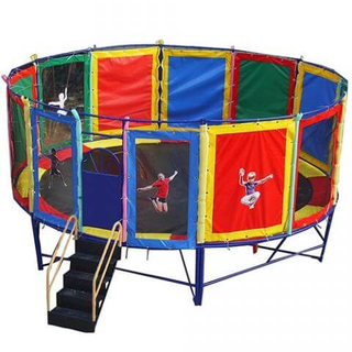 DJBTR02 round kid trampoline bed