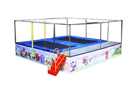 DJBTR06 2 in 1 Jumping Trampoline