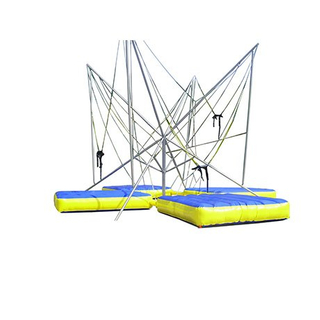 DJBTR35 4 Persons inflatable Trampoline Bungee