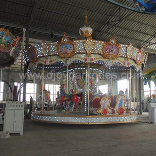 DJCR12 16seats outdoor carousel