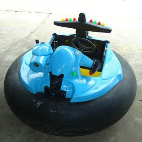 DJBC06 Round Battery Bumper car with Gun