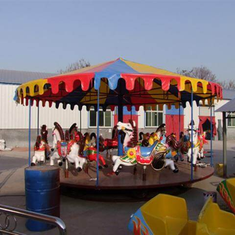 DJCR05 16seats simple carousel
