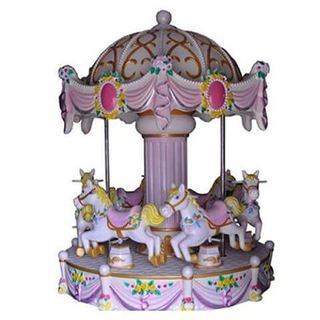 DJCR01 6 seats luxury carousel